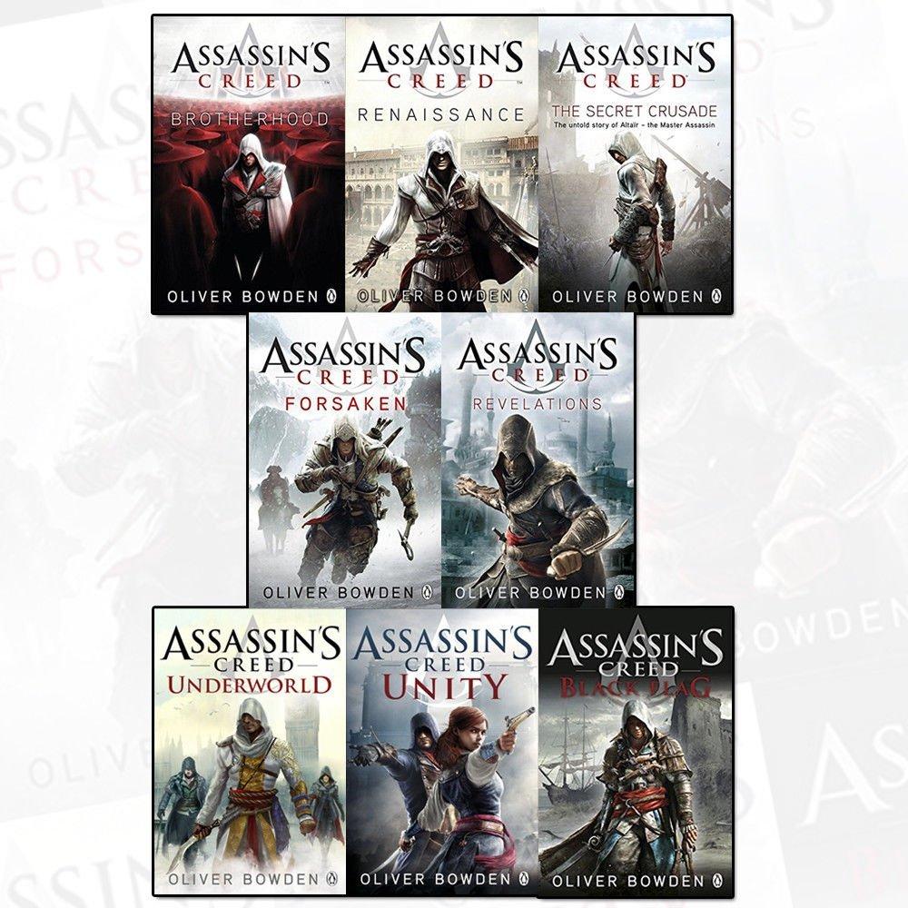 کتاب Assassins creed
